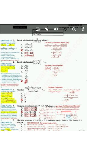 soal UN matematika SMU