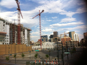 Photo: Downtown Denver going up