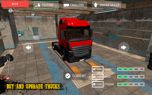 Truck Simulator: Russia android2mod screenshots 5