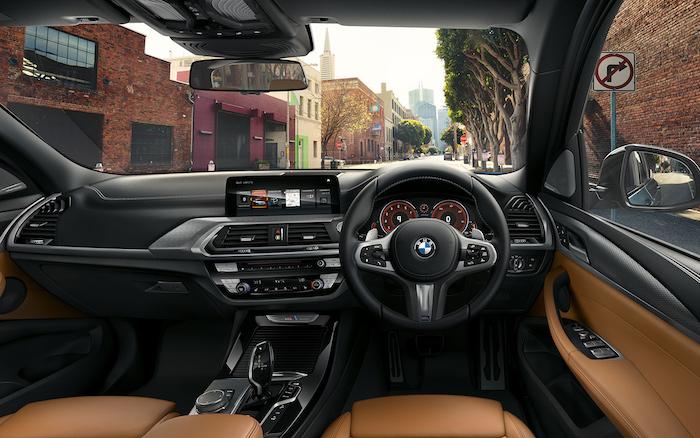 ห้องโดยสาร BMW x3 xDrive20d