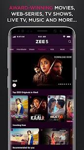 ZEE5 MOD APK 20.0.18.0 (Premium) 4