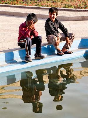 Giovani riflessi di leorol