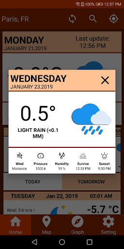 Screenshot for Tomorrow Weather Forecast Todays Weather Channel in United States Play Store