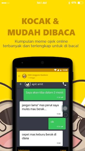 Kumpulan Gambar Meme Lucu Ojek Online : Ojol APK download | APKPure.co