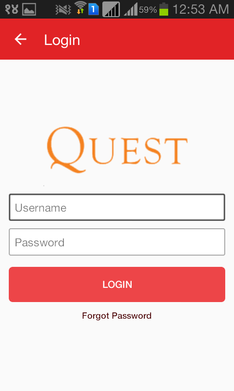 Quest College- screenshot