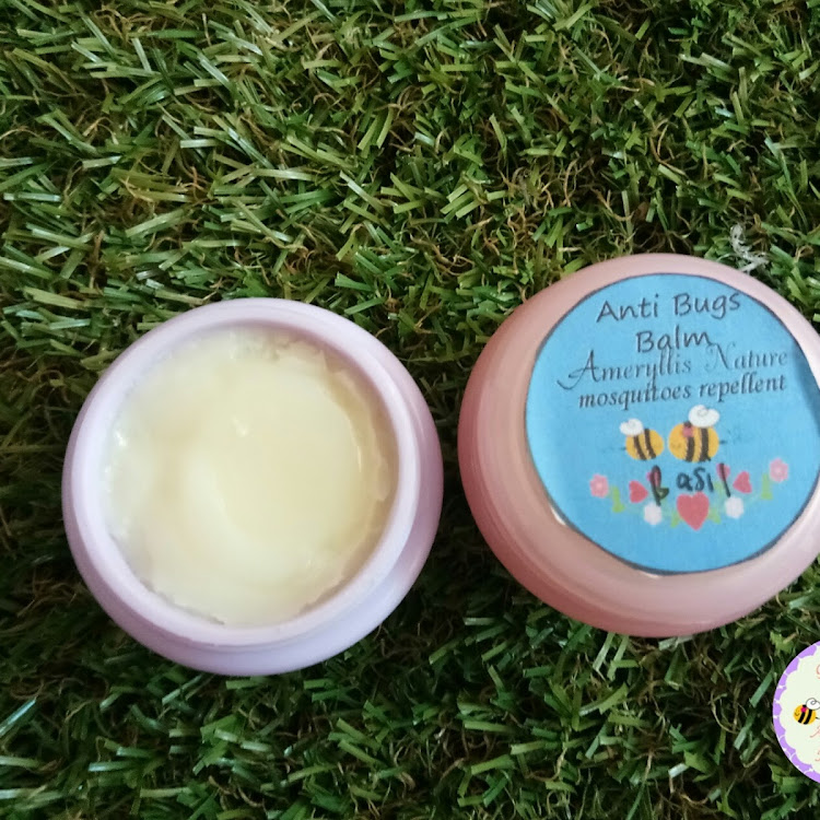 Anti bugs balm Ameryllis by ameryllis nature soap