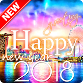 Happy New Year Greeting 2018