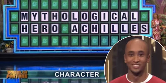 Why I hate wheel of fortune.