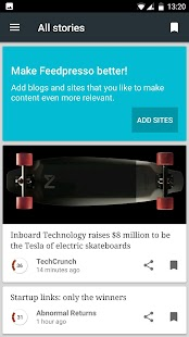 Feedpresso - Technology Business News for pros- screenshot thumbnail