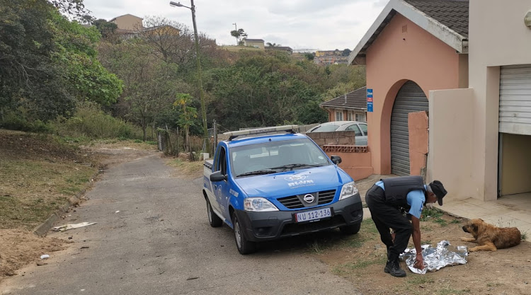 Private security company Blue Security was dispatched to Phoenix in Durban where a stray dog had picked up what appeared to be a human hand in some bushes.