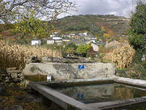 Photo: la fuente lavadero de Hornija