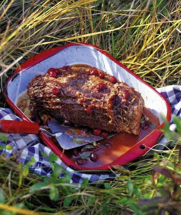 Crockpot Roast With Cranberries Recipe