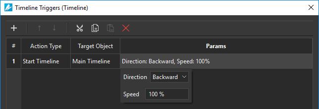 Alternate forward and backward playback direction