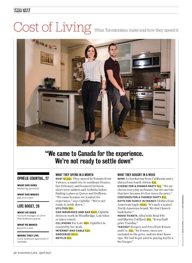 Toronto Life- screenshot