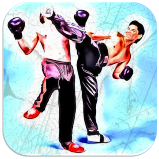 Kickboxing Fighting