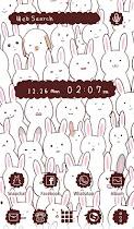 Wallpaper Many Rabbits Theme - screenshot thumbnail 05