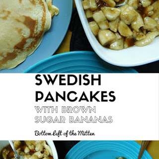 Swedish Pancakes with Brown Sugar Bananas