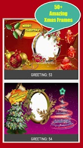 Xmas Photo Frames screenshot 0