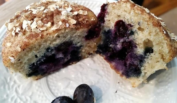 ~ Awesome Blueberry Buttermilk Muffins ~ Recipe
