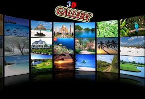 screenshot of Pro 3D Magic Gallery