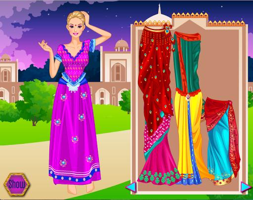 Girls Games - Dress Up Indians