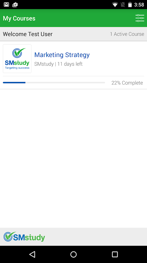 SMstudy- screenshot