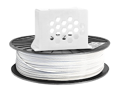 White PRO Series PETG Filament - 1.75mm (1kg)