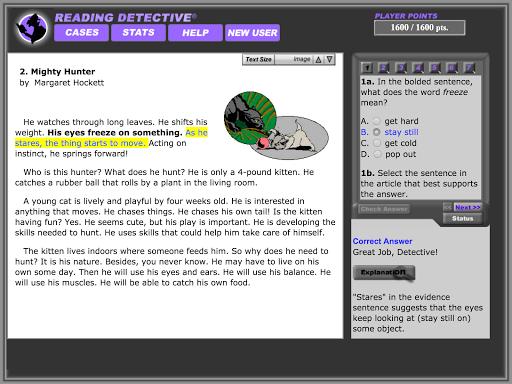 Reading Detective® Beginning image | 10