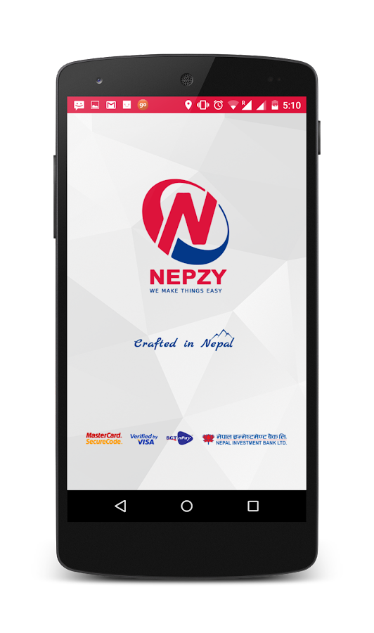 Nepzy-Recharge,Flight,Hotel- screenshot