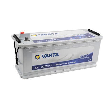 Startbatteri Varta K8 12V140Ah Pro Blue HD140