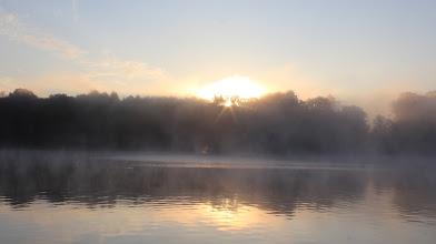 Photo: Sonnenaufgang über dem Großensee