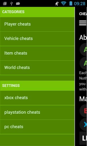 Foto do Cheat Codes for GTA V