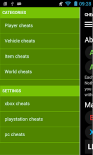Cheat Codes for GTA V- screenshot thumbnail