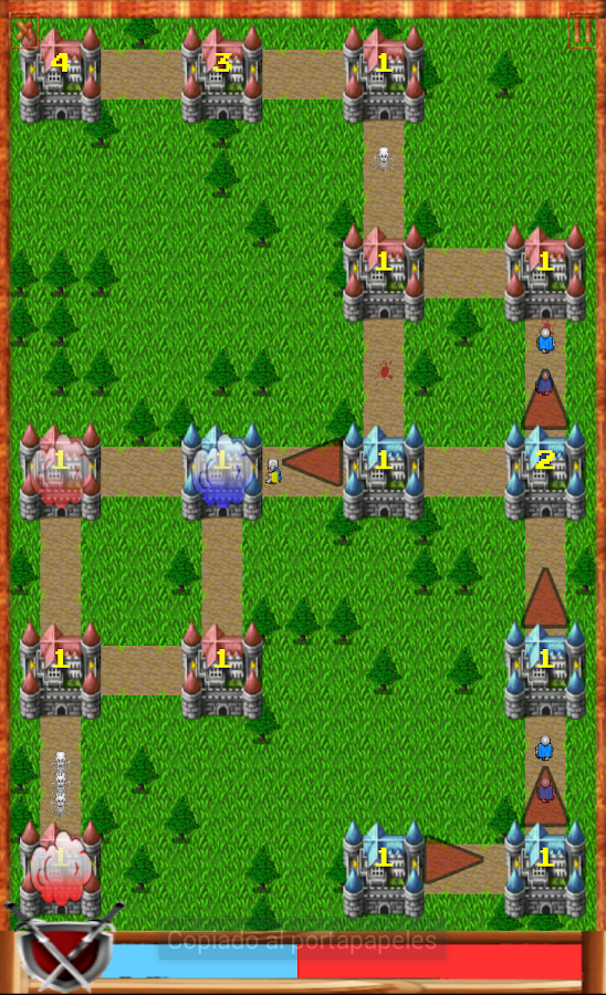 Castle assault, RTS. ETR.- screenshot