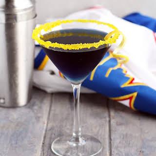 Bleed Blue Martini.
