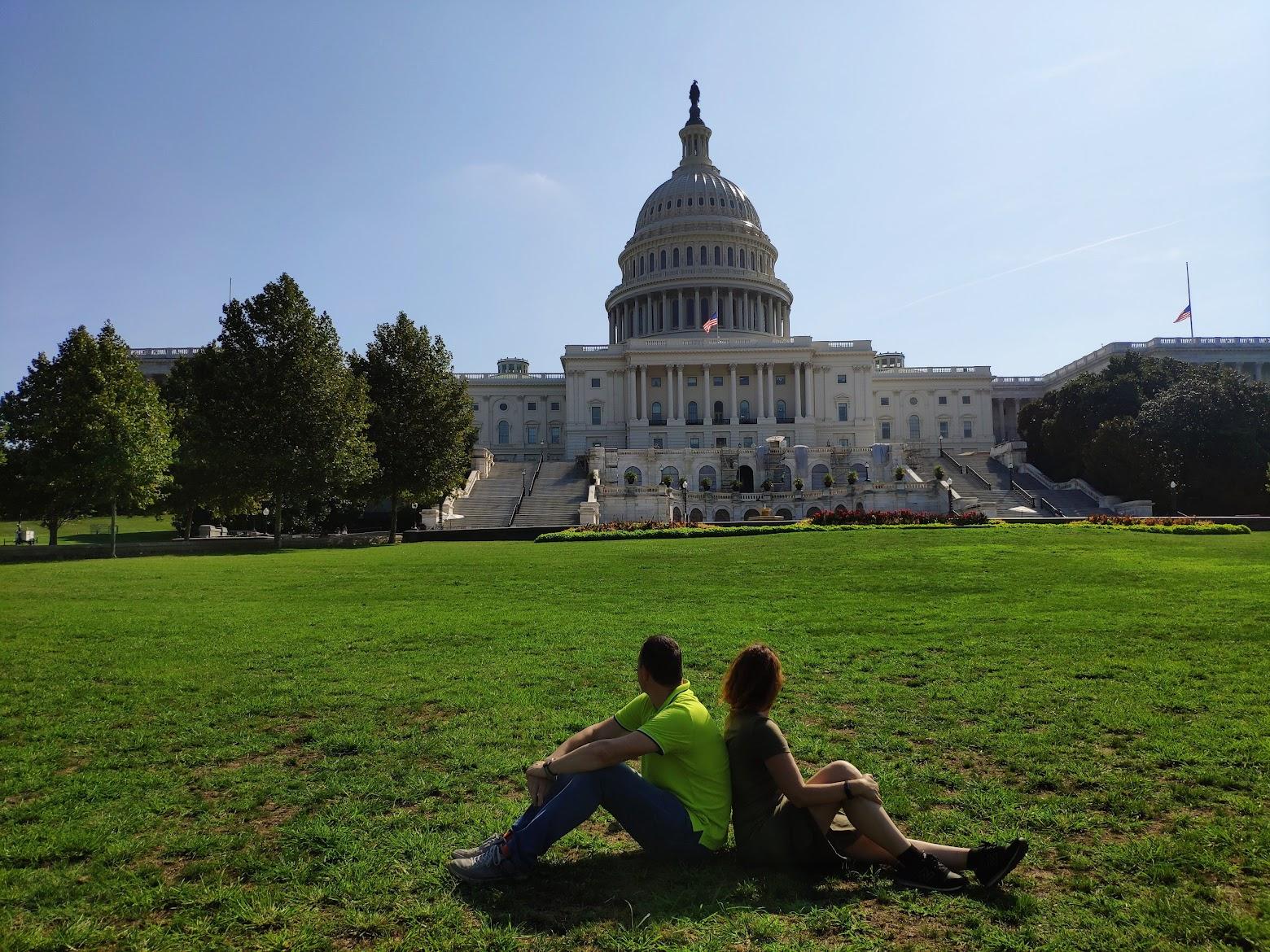 Preciosas vistas del Capitolio