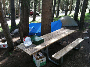Photo: Monday we moved to Tuolumne Meadows Campground