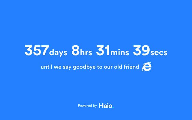 Internet Explorer Countdown Timer