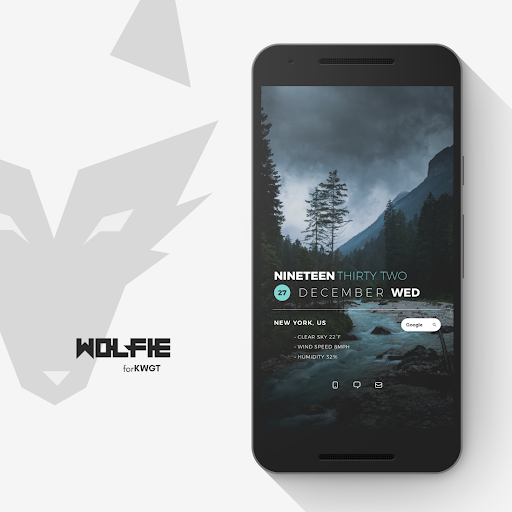 Screenshot for Wolfie for KWGT in United States Play Store