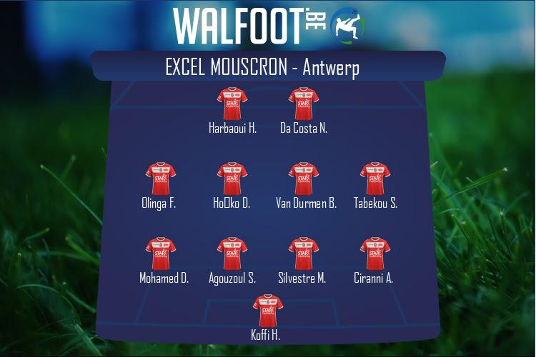 Excel Mouscron (Excel Mouscron - Antwerp)
