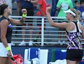 Samen met Sabalenka heeft Elise Mertens de US Open beet in het dubbelspel