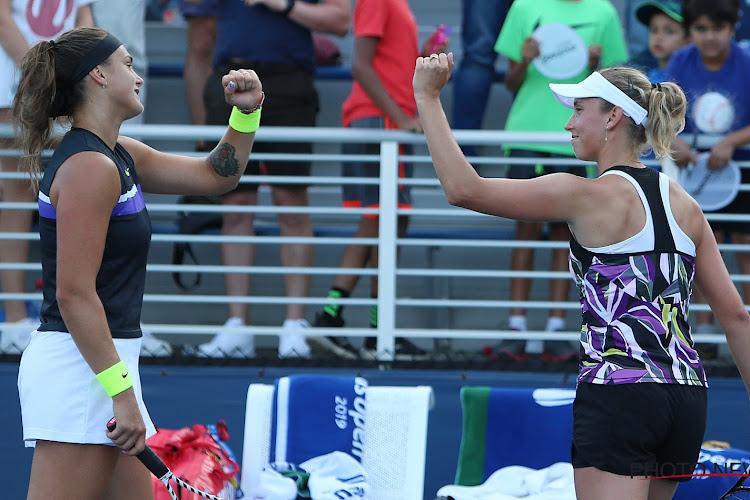 Elise Mertens neemt het in de finale van het WTA-toernooi in Linz op tegen haar dubbelpartner