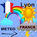 Weather Lyon 5 days icon