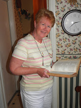 Photo: Looking at Rosie's (Gary's grandmother) recipe book