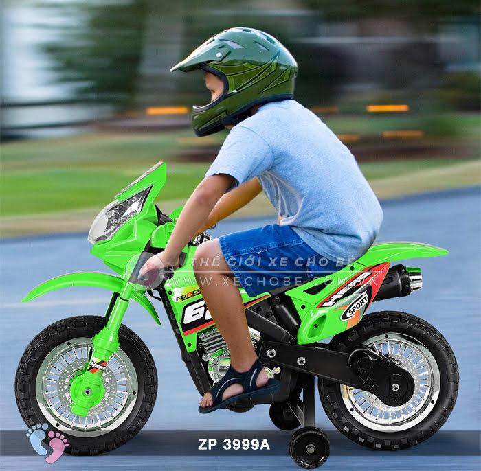 Xe mô tô điện 2 bánh địa hình cho bé ZP3999A 1