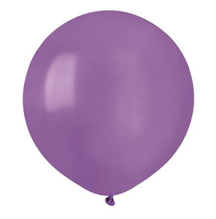 Ballonger helrunda 48 cm, ljuslila