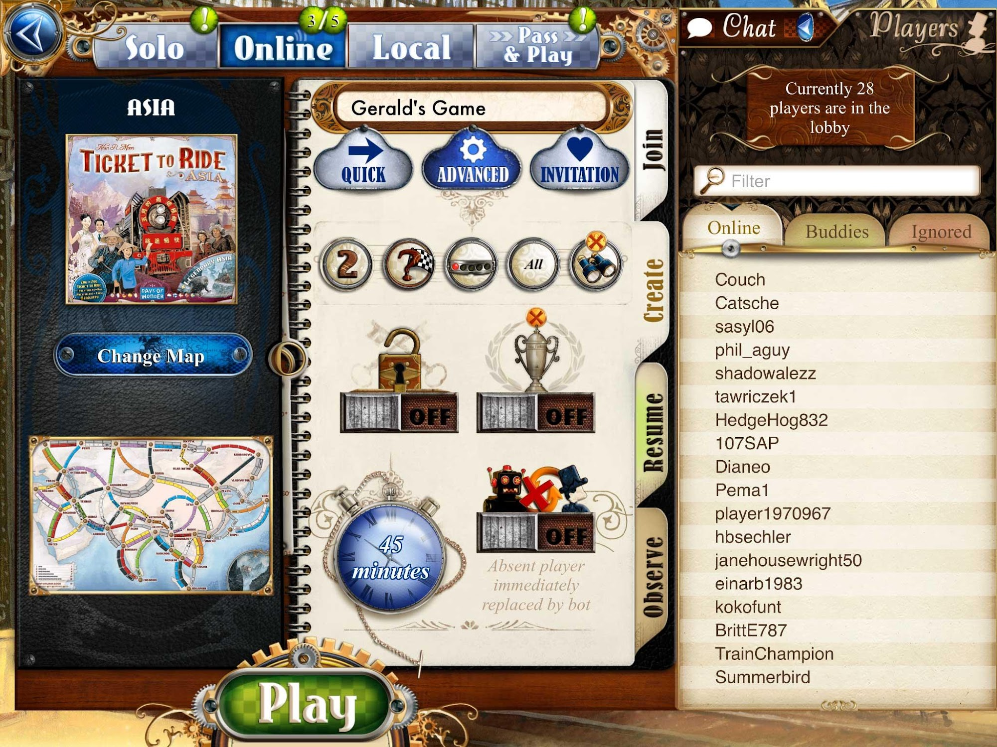 Ticket to Ride screenshot #9