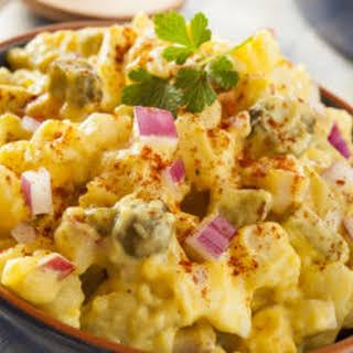 """Low-Carb """"Potato"""" Salad."""