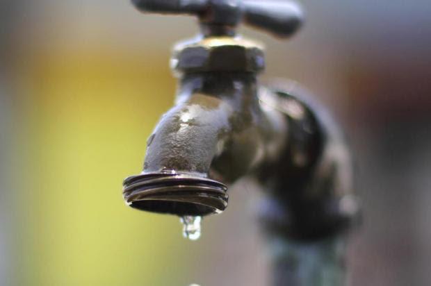 Interrupção do abastecimento de água na zona baixa da cidade