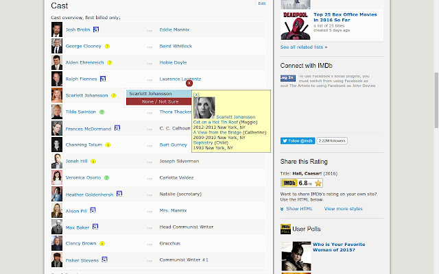 AboutTheArtists Tags On IMDB